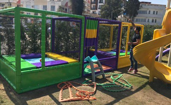 Trambolin ve Top Havuzu Milas/Muğla