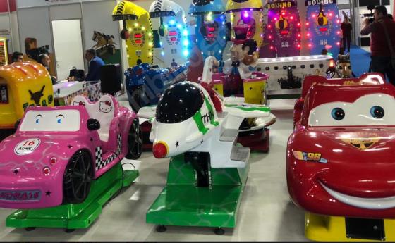 Fiberglass Kiddie Rides Soft Play!