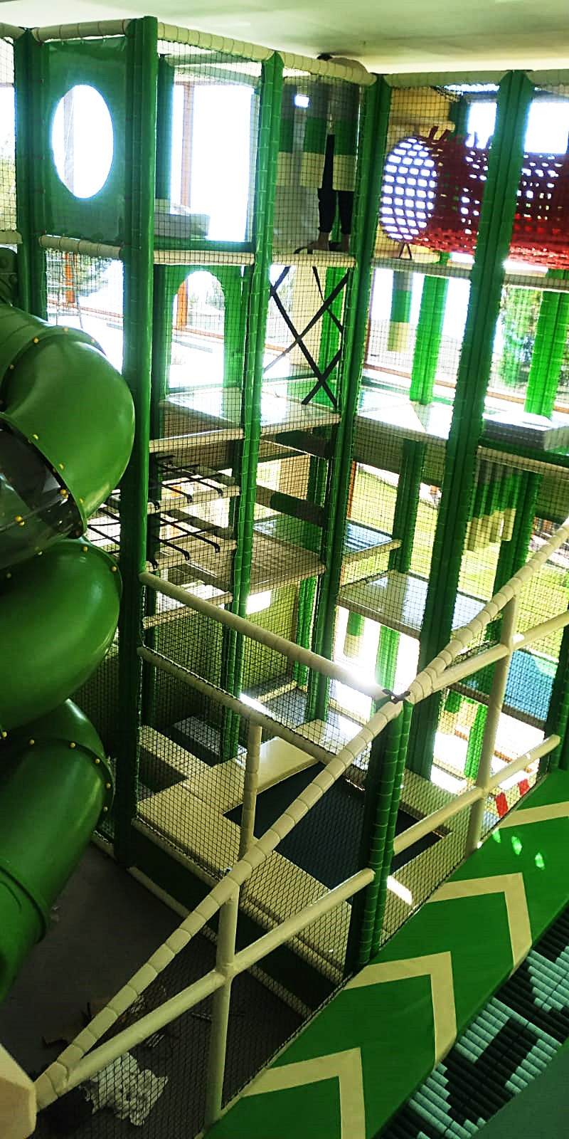 Alanya Utopia World Otel Top havuzu | Trambolin İmalatı